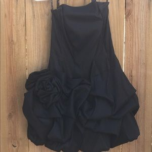 Jessica McClintock Black Cocktail Dress Size 8